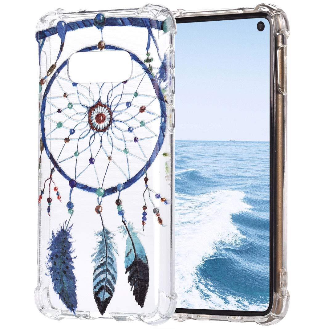 TPU Étui pour Samsung Galaxy S10E, Impression Peint Anti-Rayures Antidérapant Imperméable Dünn Peau de Pare-Chocs de Silicium Transparent pour Samsung Galaxy S10E