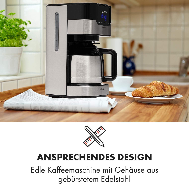 Kaffeemaschine aus Edelstahl von Klarsteine