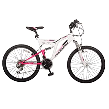 d1b7fa61c73 Image Unavailable. Image not available for. Colour: Muddyfox Kids Recoil24  Girls Mountain Bike Dual Suspension Cycling Bicycle