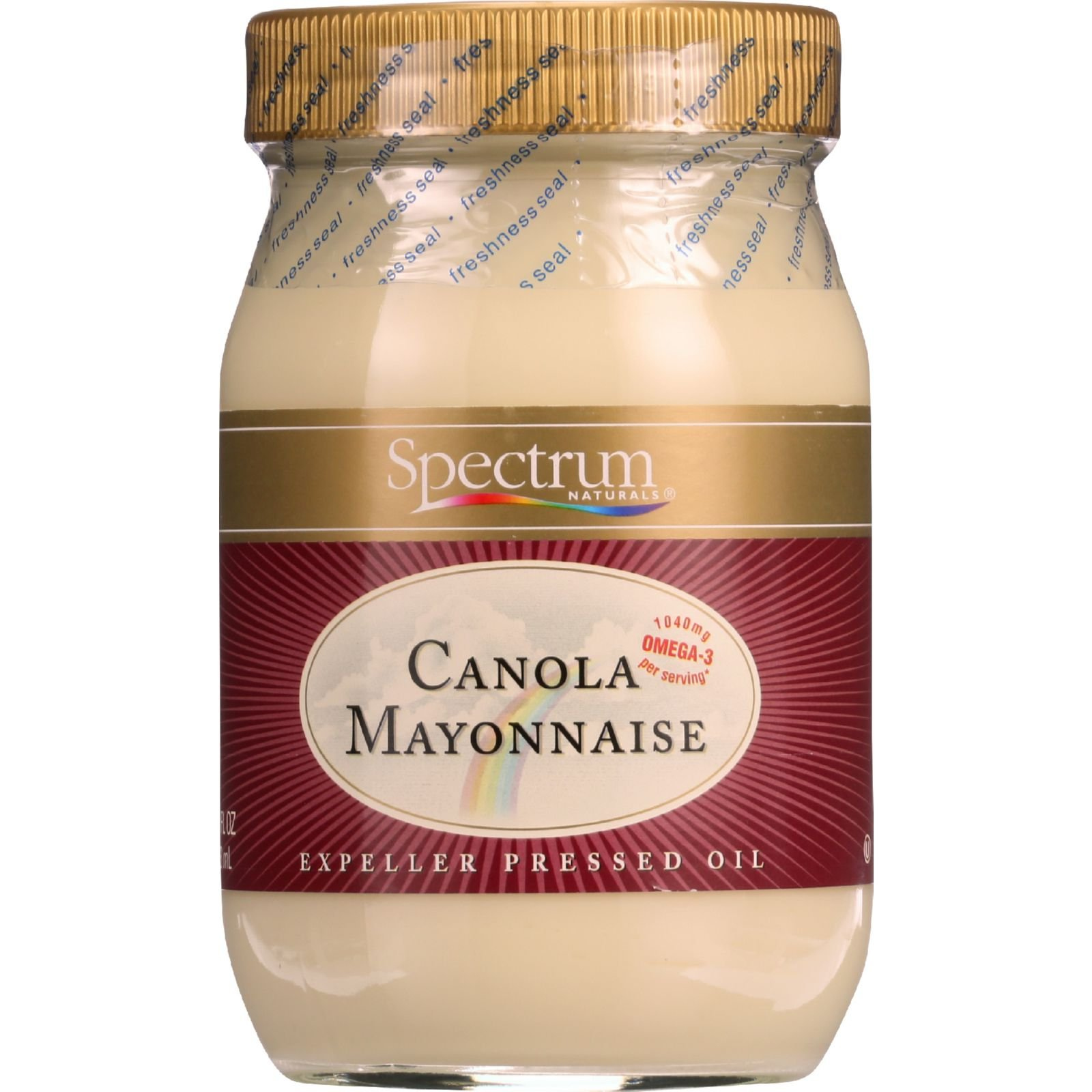 Spectrum Naturals Mayonnaise - Canola - 16 oz - 1 each (Pack of 3)
