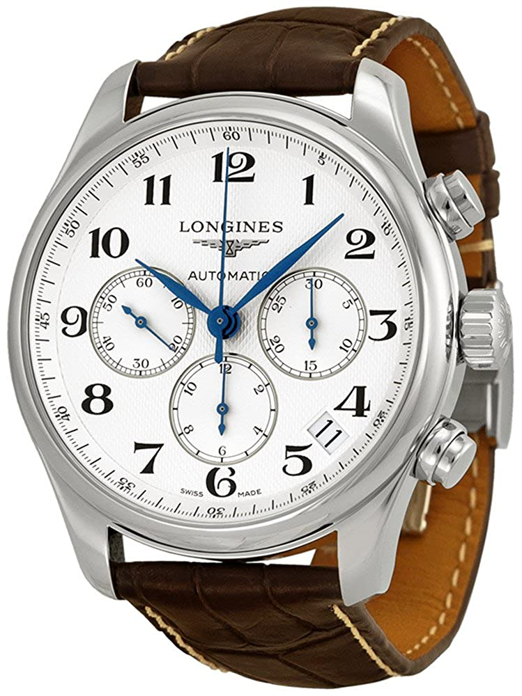 Longines Master Collection Chronograph Stainless Steel Mens Watch L26934783