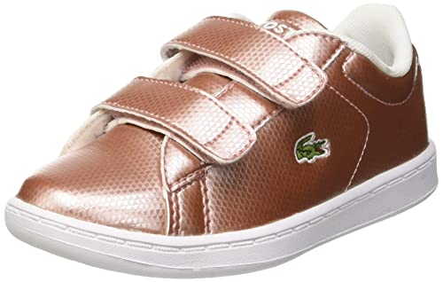 ec1854d975 Amazon.com | Lacoste Carnaby Evo 119 6 Pink Synthetic Infant ...