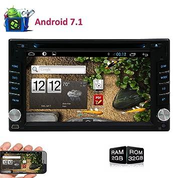EINCAR Radio de Coche Android 7.1 + GPS Navigation + Unidad 2 DIN + USB/
