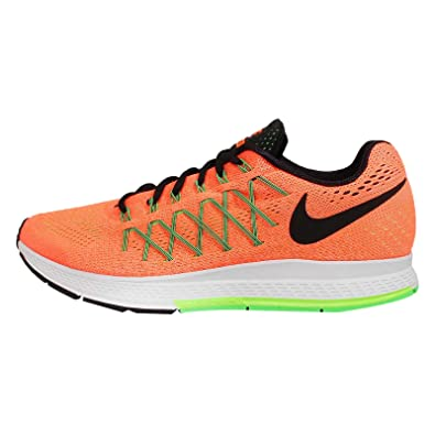 save off 69601 407a1 Nike Men s Air Zoom Pegasus 32 Total Orange,Black,Ghost Green,Voltage Green