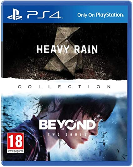 Amazon com: Heavy Rain and Beyond Two Souls Collection HD Remastered