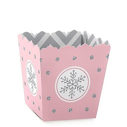 Amazon.com: Pink Winter Wonderland – Juego de 12 cajas de ...