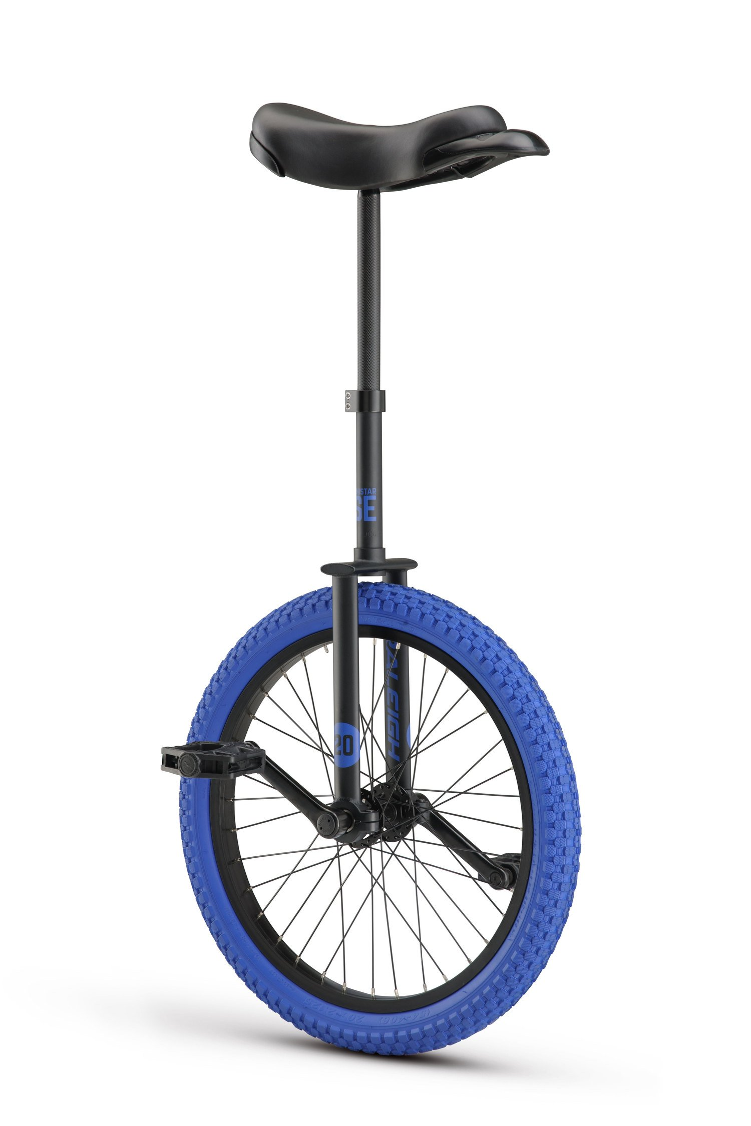 RALEIGH Unistar SE 20, 20inch Wheel Unicycle, Black
