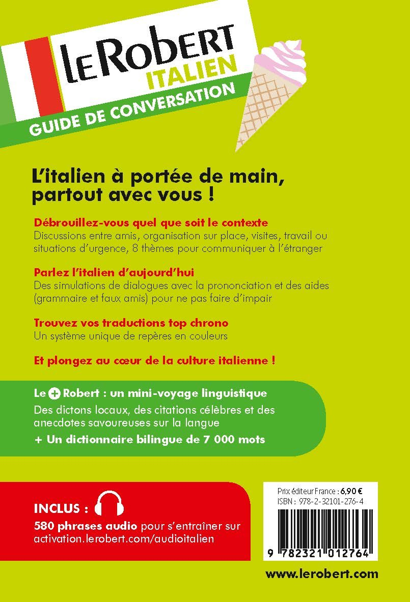 Buy Le Robert Guide De Conversation Italien Poche Book