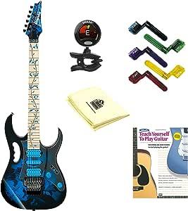 Ibanez jem77p Steve Vai Firma Jem Premium Series Guitarra