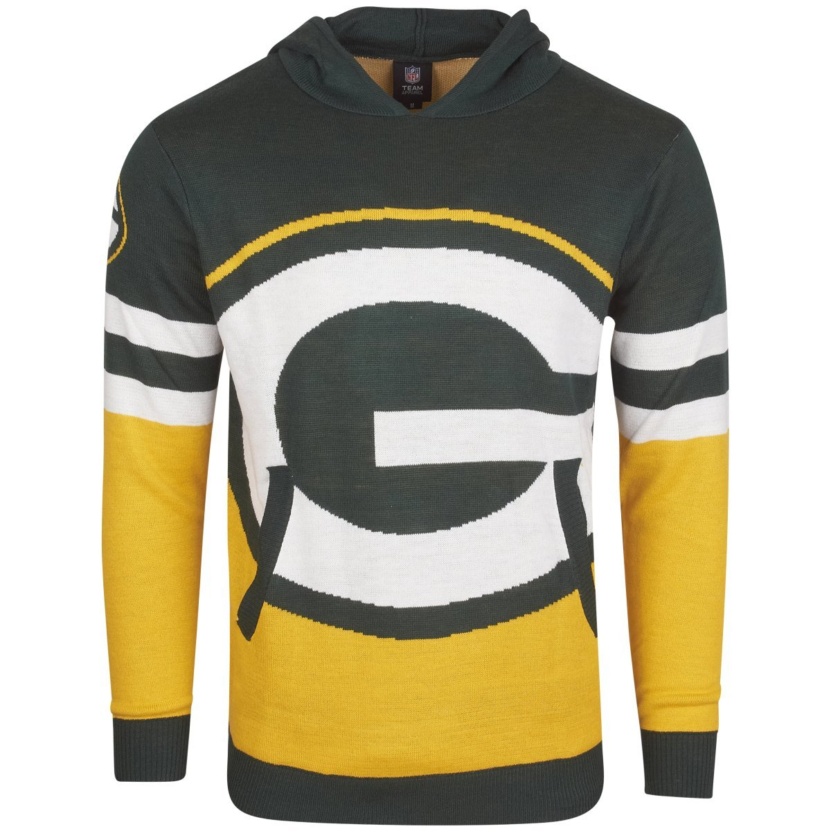 NFL Ugly Sweater Big Logo Hoody – NFL Green Bay Packers Forever Collectibles