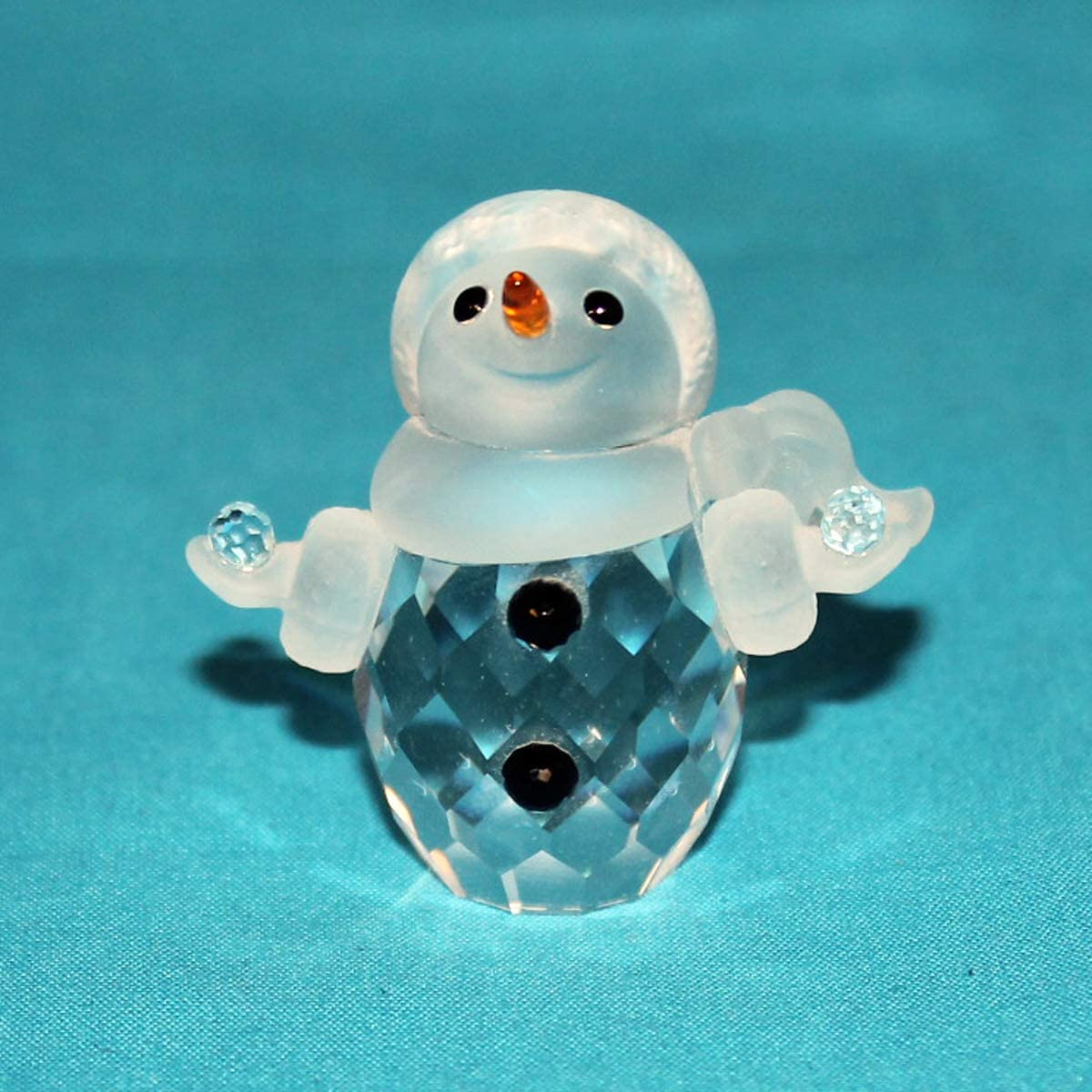 Swarovski Crystal Figurine 624572, Little Snowman