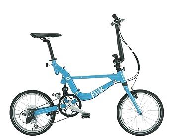 Bicicleta Plegable Jango Flik de TOPEAK (azul turquesa) EZV9 18 Shimano Sora
