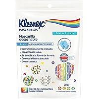Kleenex Mascarillas, Cubrebocas Ajustable, Bolsa conn 5 piezas de Triple Capa, Edición Especial Pride