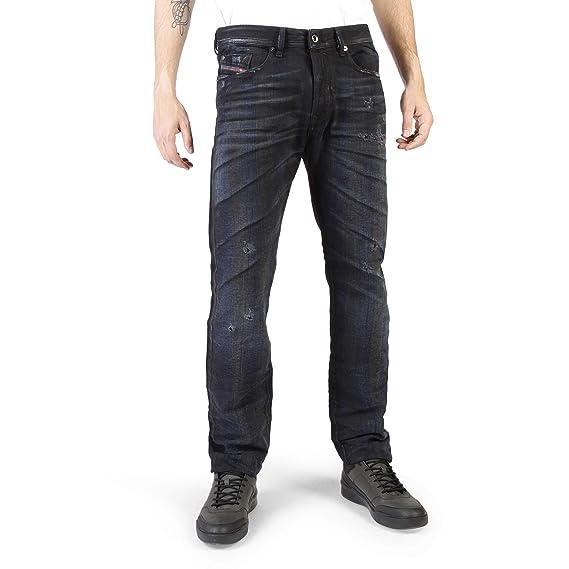 6f82c2dd Diesel Buster 0844E Men's Jeans Trousers Regular Slim Tapered ...