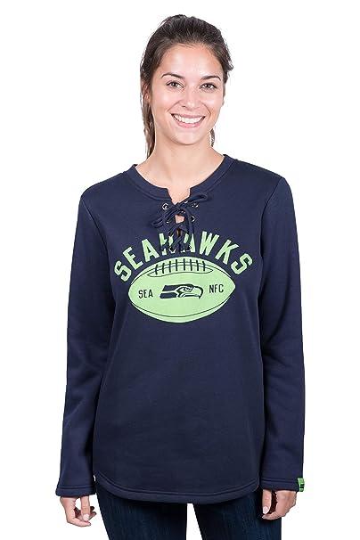 finest selection 00059 0368c Amazon.com : Ultra Game NFL Seattle Seahawks Women's Fleece ...