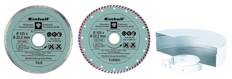 Einhell TC-AG 125 Smerigliatrice Angolare