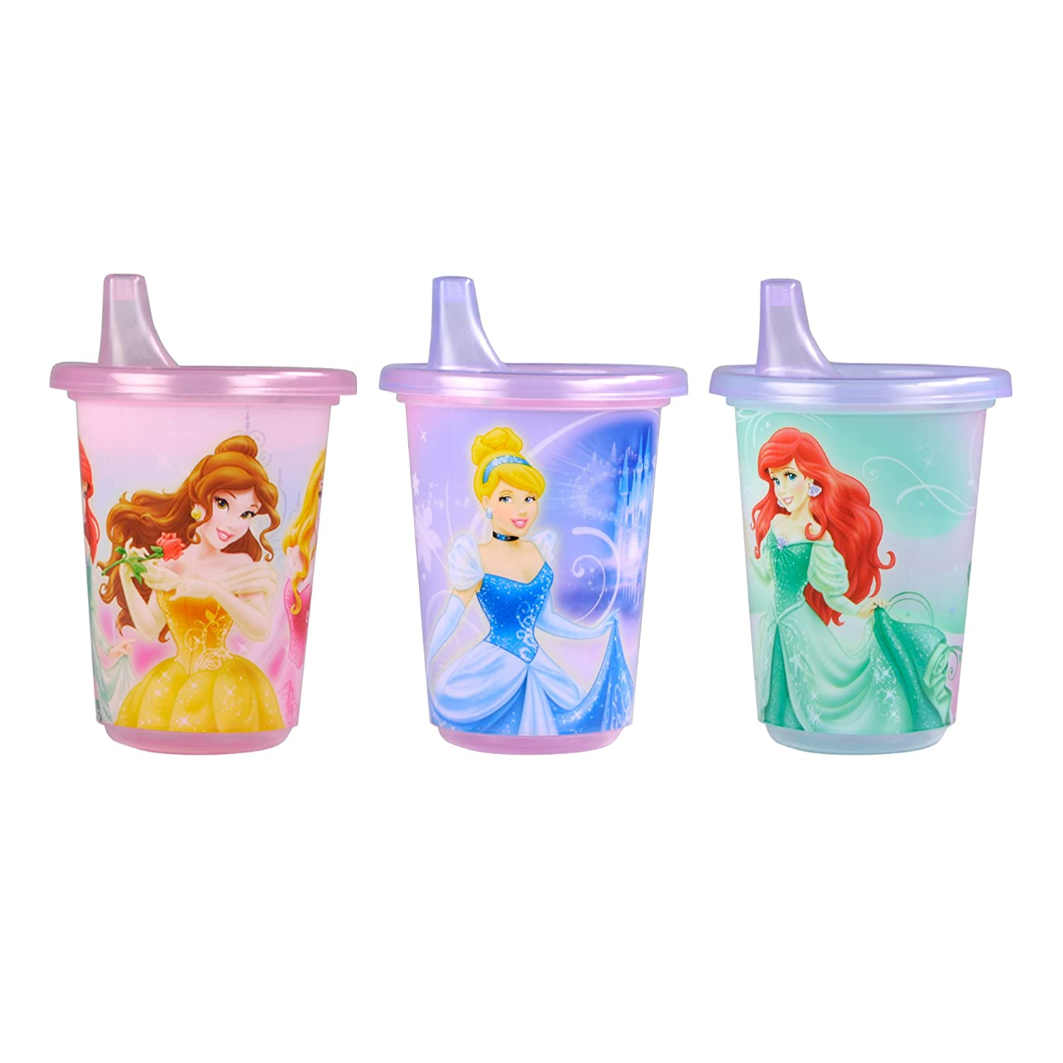 The First Years Disney Take & Toss Sippy, 10 Ounce, 3 Pack Pack Princess Pack
