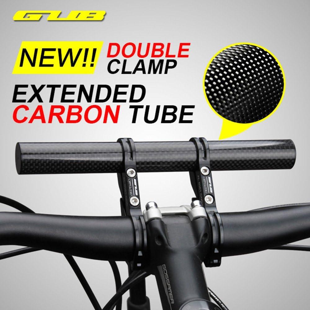 GUB MTB Bike Handlebar Extender Extension Bicycle Bar Mount Cycling Holder Clamp