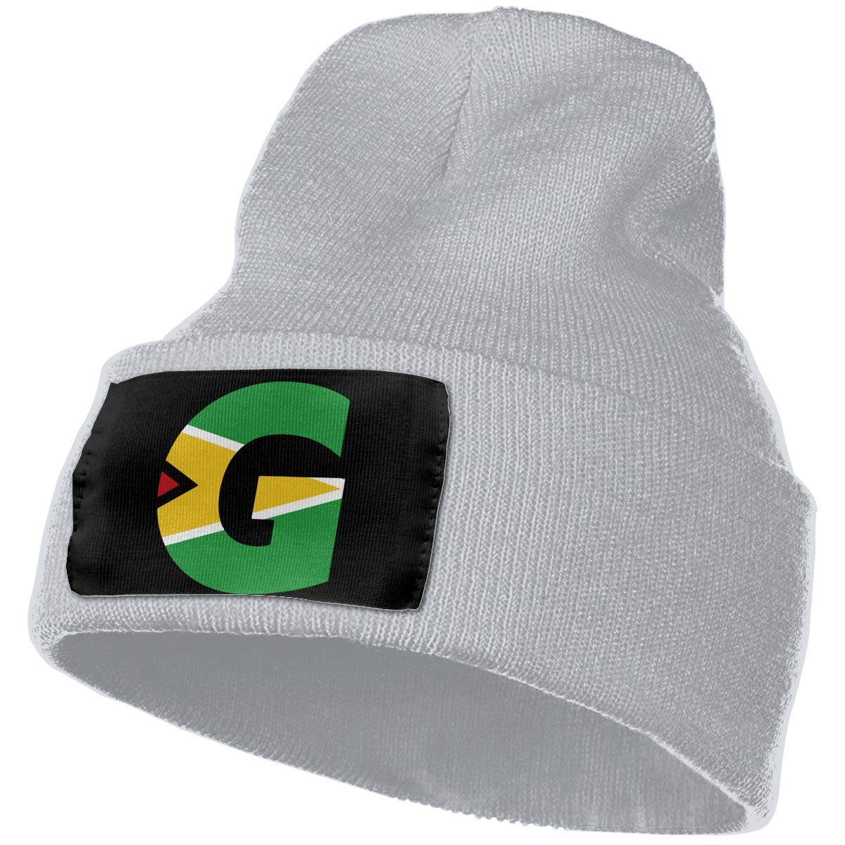 QZqDQ Guyana Flag G Letter Unisex Fashion Knitted Hat Luxury Hip-Hop Cap