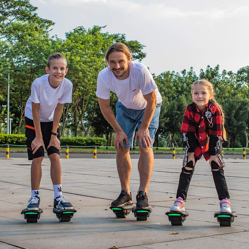 Magic hover Hoverboard Self Balance hoverboards Roller Skate Hover Board,300W Dual Motor Hoverboard for Kids and Adults,Hovershoes Drift X1,3.5 Freeline Skate,12km//h Max Speed Hoverboard