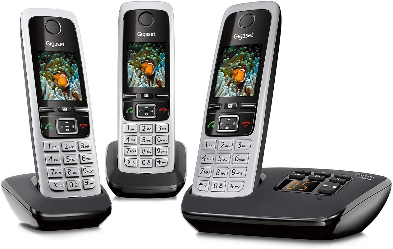 Gigaset C430a Trio 3 Schnurlose Telefone Mit Elektronik