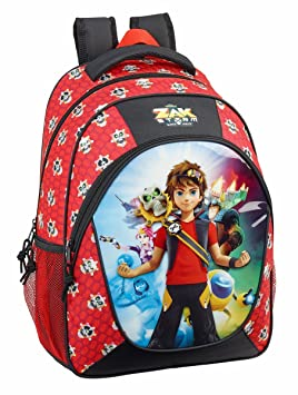 Safta Mochila Escolar Zak Storm Oficial Adaptable A Carro 320x440x140 mm: Amazon.es: Equipaje