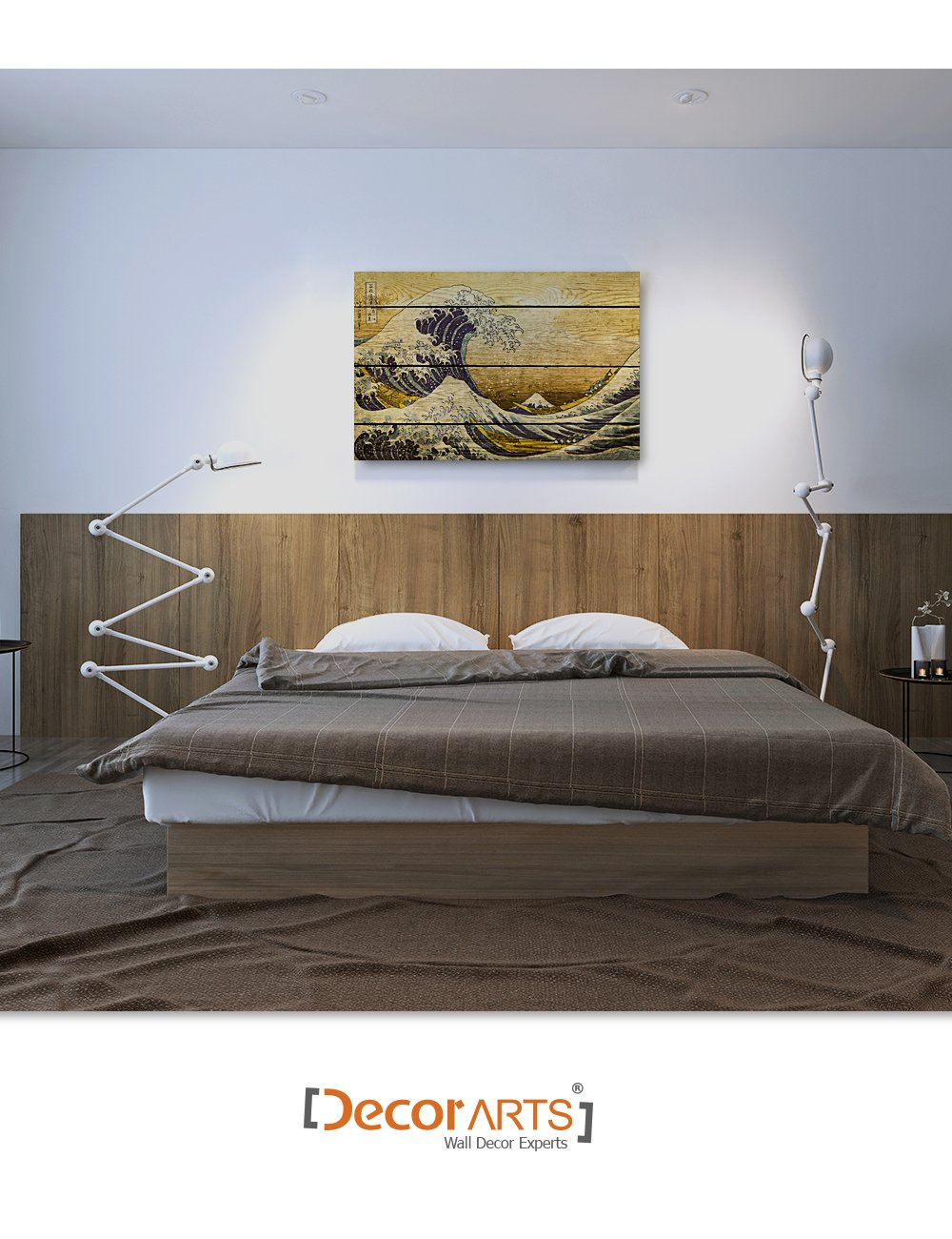 Giclee Print Wall Art for Home Decor and Wall Decor.30x20 x1.5 There is Always Hope Graffiti Artworks by Banksy DECORARTS