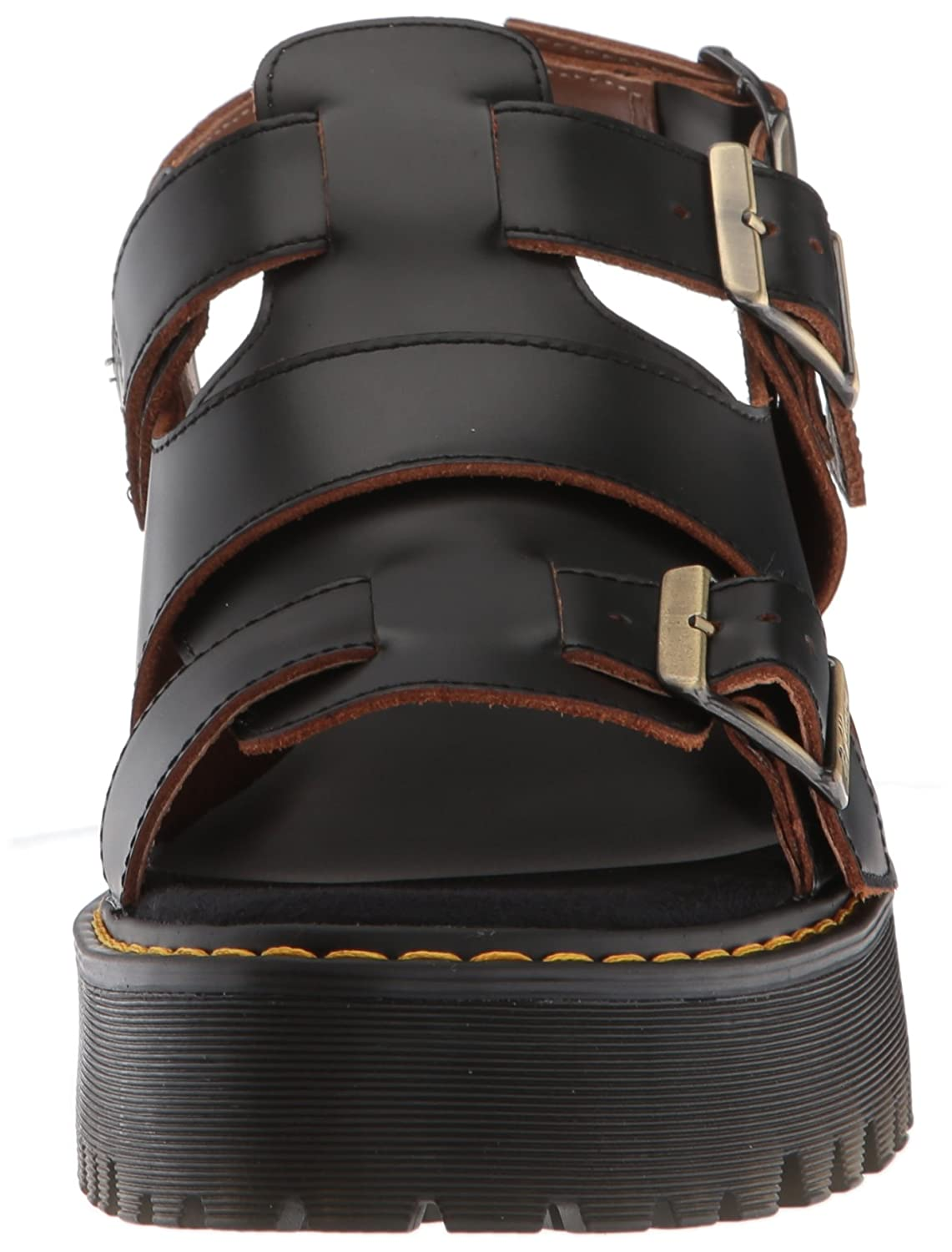 b2426bd33468 Dr. Martens Women s Ariel Vintage Smooth Fisherman Sandal