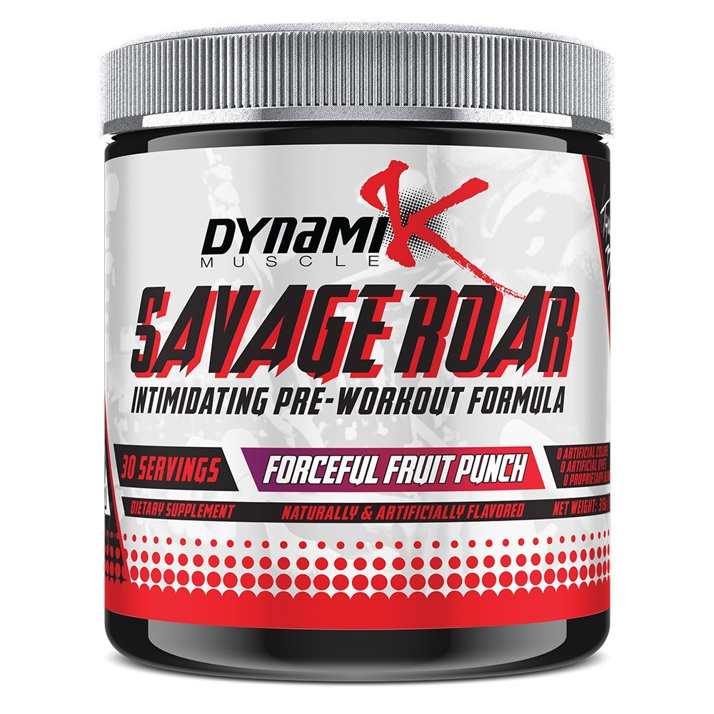 Savage Roar | Dynamik Muscle | Pre-Workout | Formulated By Kai Greene (Forceful