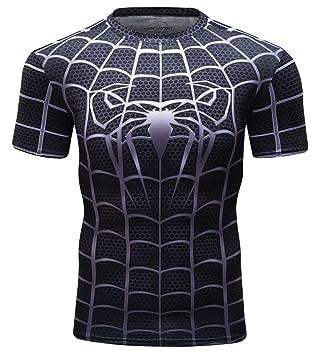 Cody Lundin Camiseta Fintess para Hombre Camisas Ajustadas Negras para Hombres Camisetas Superhero Camisas Deportivas para Hombres Camiseta Deportiva: ...