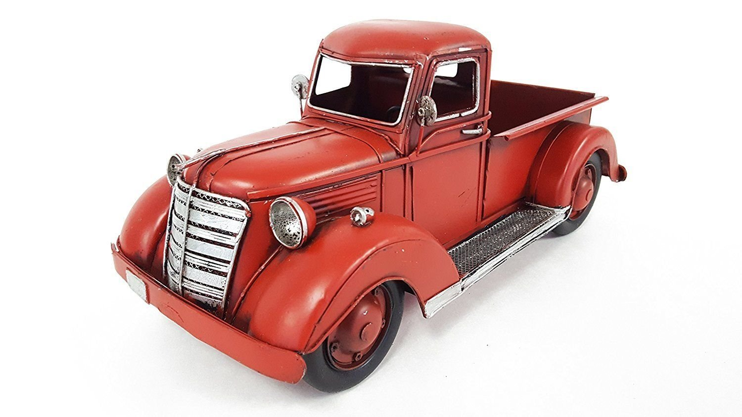 Red Metal Truck