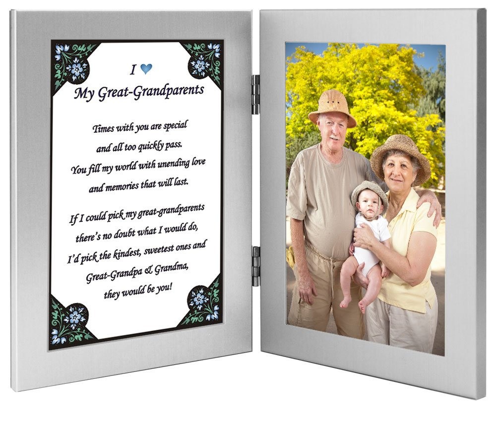 Poetry Gifts Great Grandparent Gift from Grandchild, Great-Grandparents Frame - Add Photo poetrygifts-70-620