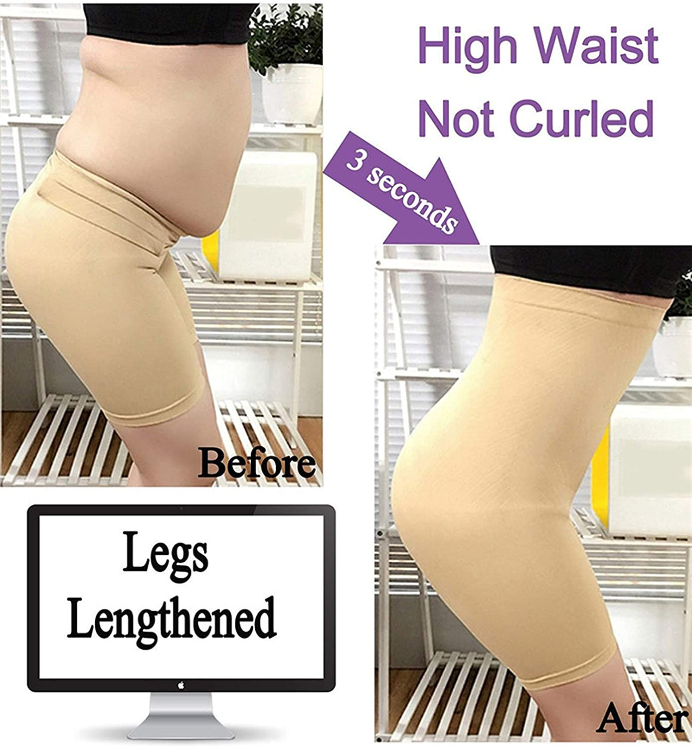 Slimming Pants Women High Waist Trainer Tummy Control Panties Tight Slim Leg Hot Body Shaper