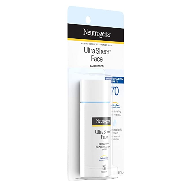 Neutrogena Ultra Liquid Sunscreen Spectrum