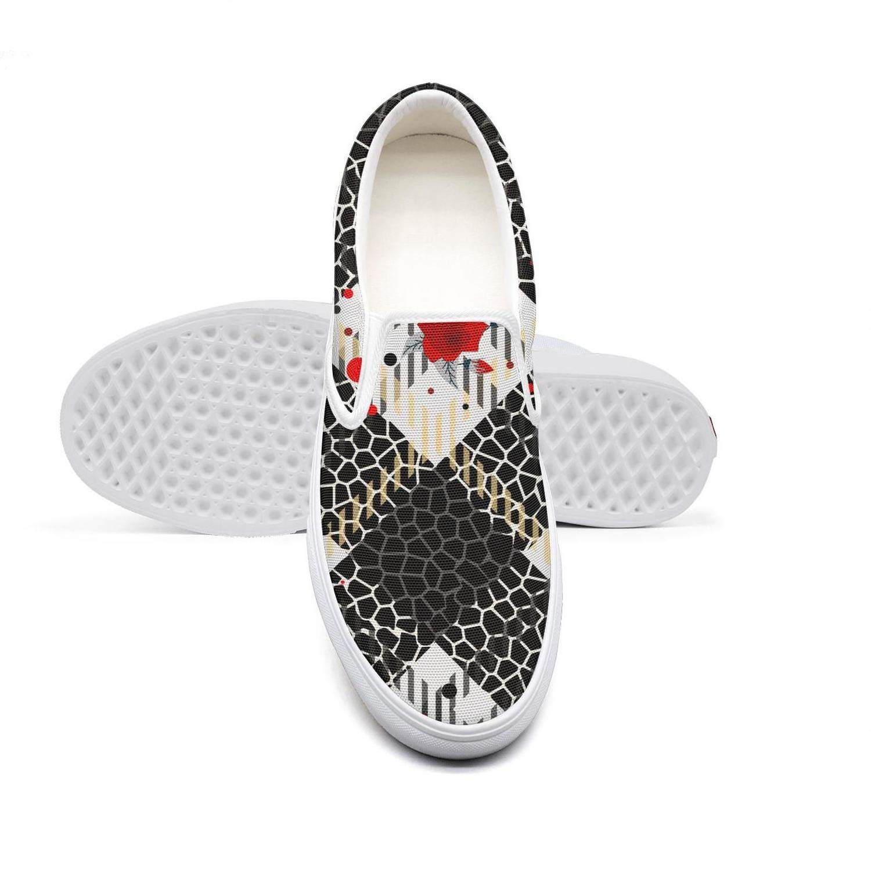 Tartan Plaid Flowers Leopard Skin Animal Biking Shoes lace up Slip for Women