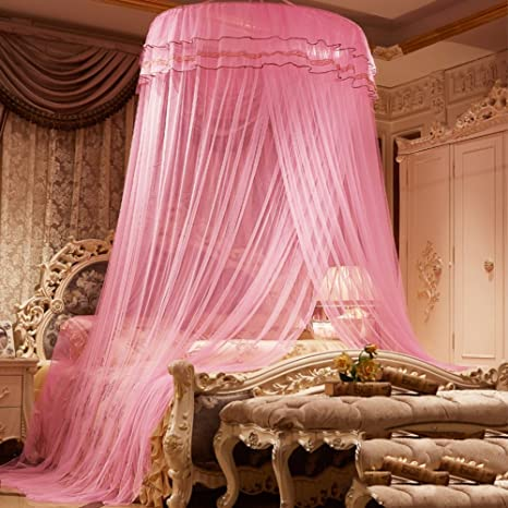 Amazoncom Dome Ceiling Mosquito Net Encrypted Princess Dome Bed