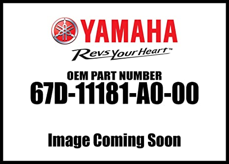 Yamaha 67D-11181-A0-00 GASKET  CYLINDER H