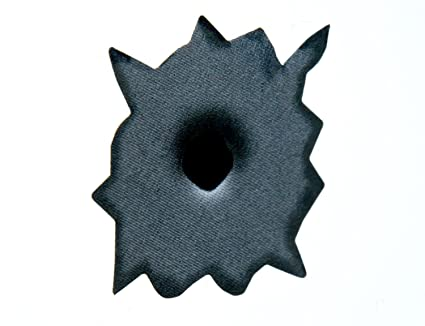 32 x agujero de bala adhesivo vehículo coche casco Windows Decal: Amazon.es: Hogar