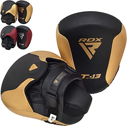 Speed and Punch Practice Lions Max Star Curved Focus Pads Hook and Jab For MMA Kick Training