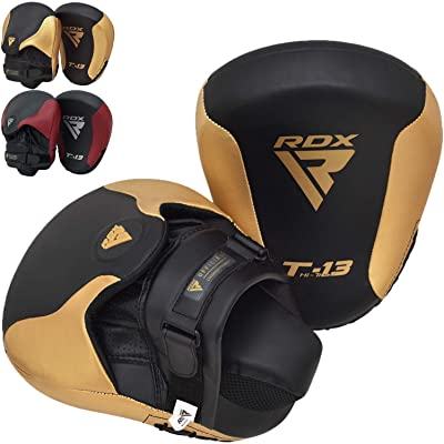 MMA Focus Boxing Pads Kick Martial Arts Foot Target Leather Training Equipment