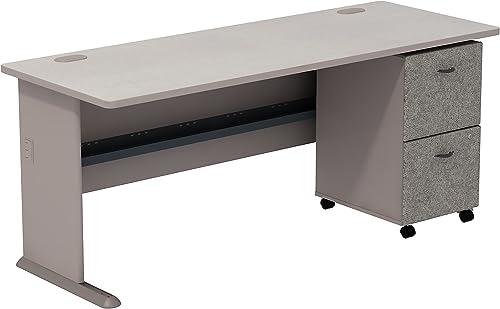 Bush Business Furniture Series A 2 Drawer Mobile Pedestal Desk
