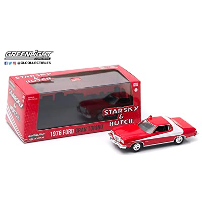 Greenlight 86442 1976 Ford Gran Torino Starsky and Hutch 1:43 Scale Diecast: Toys & Games
