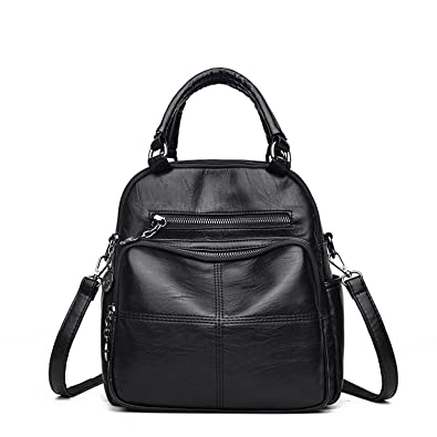 2aa3391a9990 Amazon.com: Evan Fordd New Fashion Woman Backpack Leather Brands ...