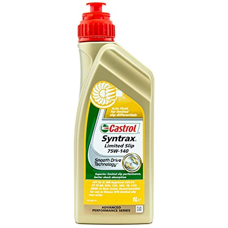 Castrol Syntrax Limited Slip Gear Oil 75W-140-1 Liter