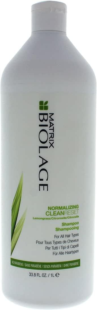 Matrix Biolage Normalizing Cleanreset Shampoo by Matrix for Unisex - 33.8 oz Shampoo, 1 L, 1 L