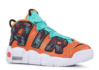 75ce495e8e392 Amazon.com | Nike Air More Uptempo (What The 90s) (Kids) | Basketball