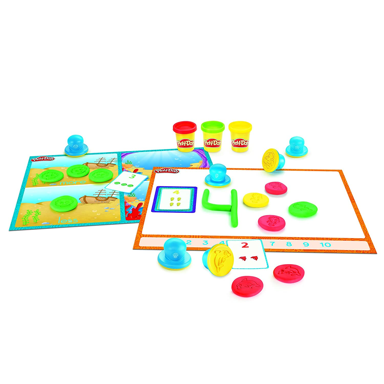 Play Doh Shape and Learn Numbers and Counting