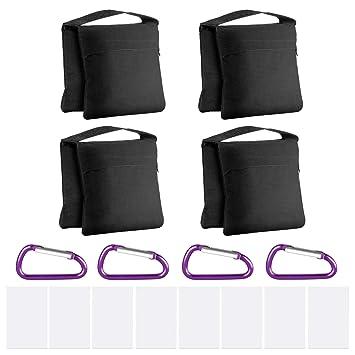 Neewer 4-Pack Bolsas de Arena de Alta Resistencia con Diseño ...