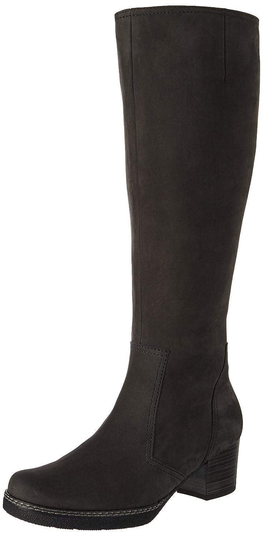 Gabor Shoes Comfort Basic, Botas para Mujer37.5 EU|Gris (Dkgreys.s/A.f/Mi)