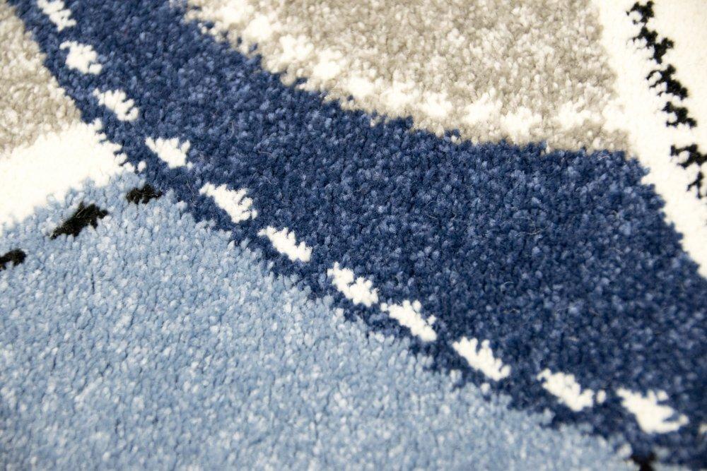 Kinderteppich Spielteppich Teppich Kinderzimmer Babyteppich Pirat Affe in Blau Blau Blau Größe 160x230 cm bd961d
